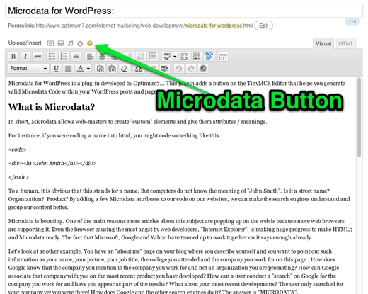 1st Step with Microdata for SEO Plugin