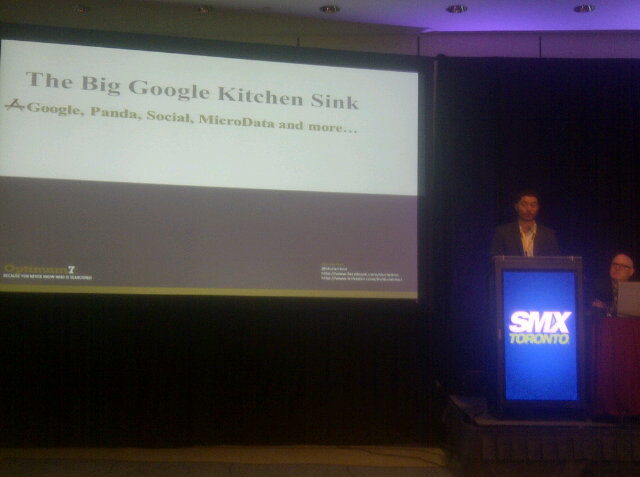 The Google Penguin Update at SMX Toronto