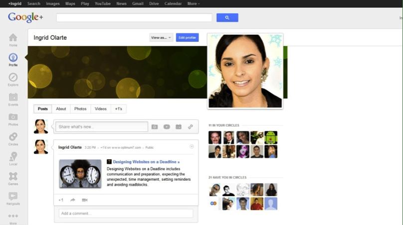 Social media optimization for websites