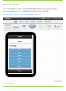 jquery for mobile sites