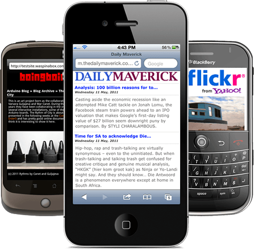 mobile sites for small business