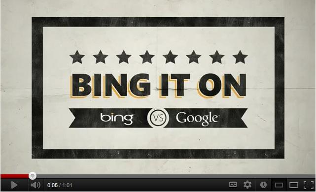 bing – challenge