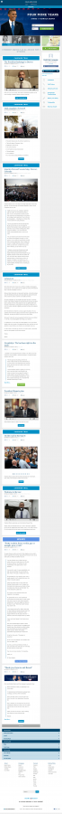 Barack Obama Official Homepage