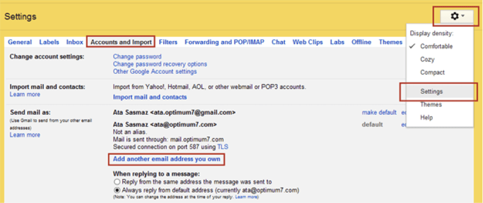 forward you emails to your gmaild address