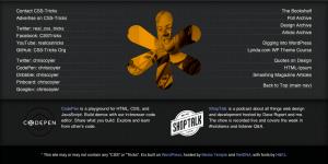 CSS-Tricks Footer