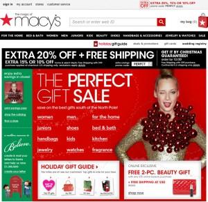 Macy's Holiday Marketing