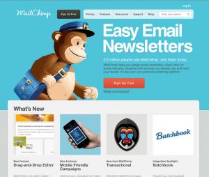 Mail Chimp Screenshot