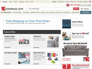Overstock Free Shipping Holiday Offer