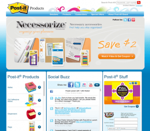 Post-It Screenshot