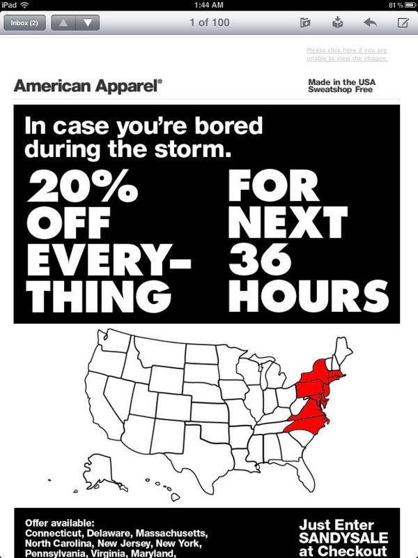 5 Online Marketing Lessons from Hurricane Sandy