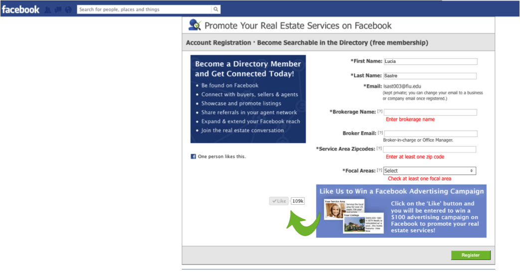 Real estate facebook applications that will help expose your listings