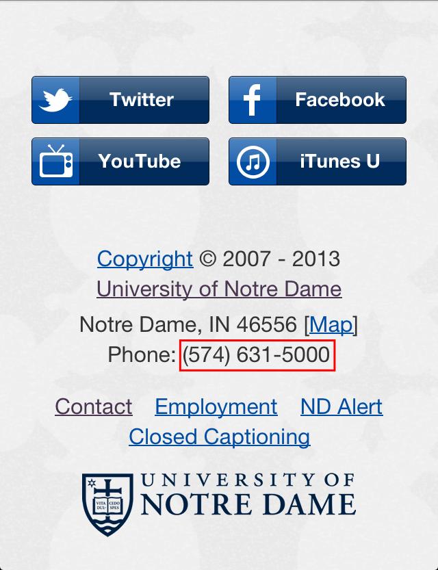 NotreDame_phonenumber