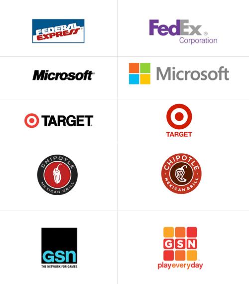 Successful Rebrands