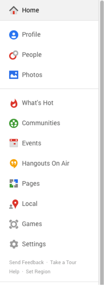 new Google+ features