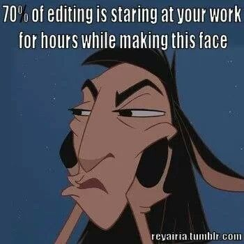 70 Percent of Editing