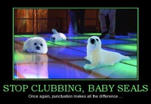 Stop Clubbing!