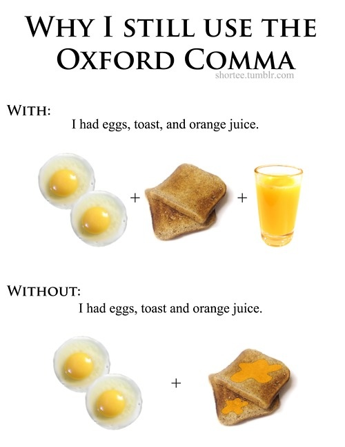 You May Still Love the Oxford Comma