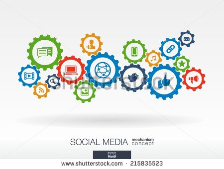 stock-vector-social-media-mechanism-concept-abstract-background-with-integrated-gears-and-icons-for-digital-215835523