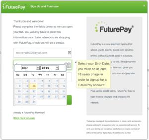 FuturePay Integration