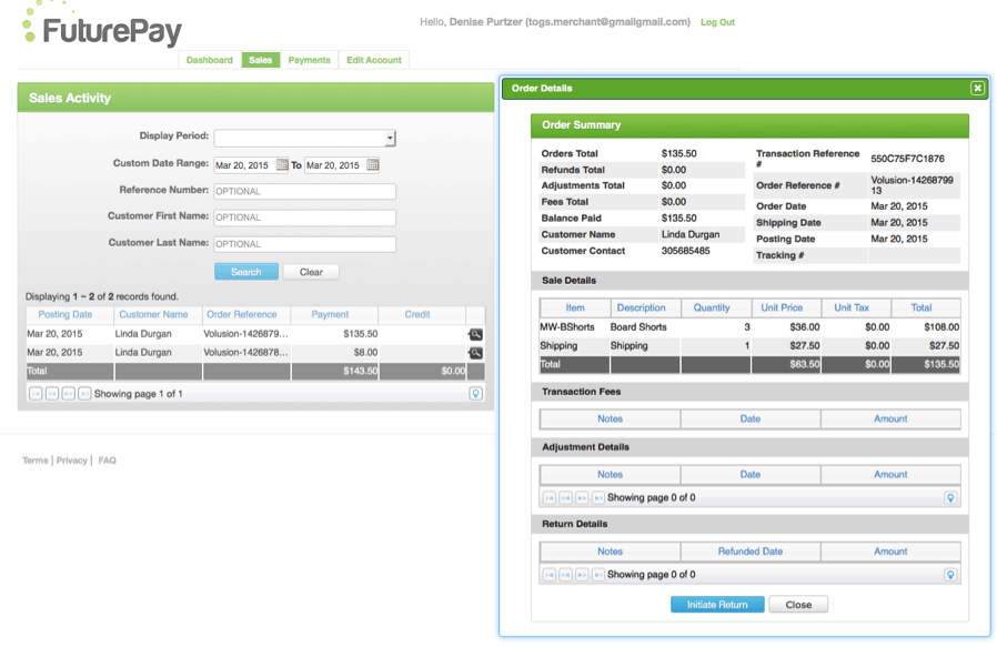 FuturePay Integration with Volusion, Bigcommerce and Shopify; Selling Expensive Products Online