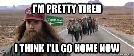 i'm pretty tired