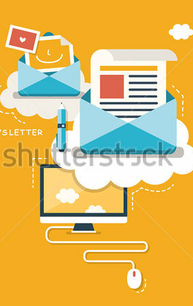 stock-vector-flat-design-concept-of-regularly-distributed-news-publication-via-e-mail-with-some-topics-of-182132864