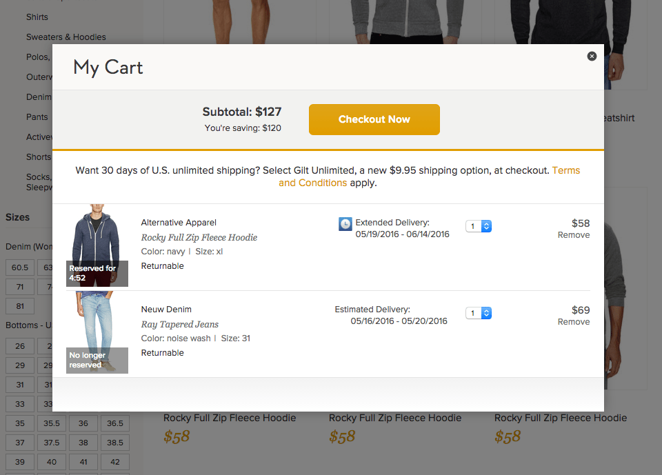 reserved-cart-checkout