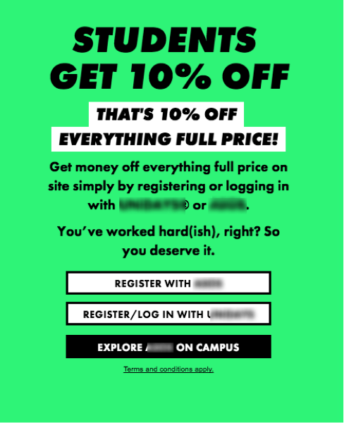 student-discount-with-verification