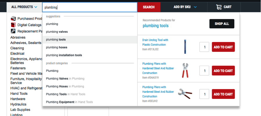 display-recommended-products-search-drop-down