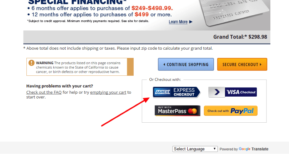 American Express Checkout >> American Express Checkout Integration For Volusion Bigcommerce