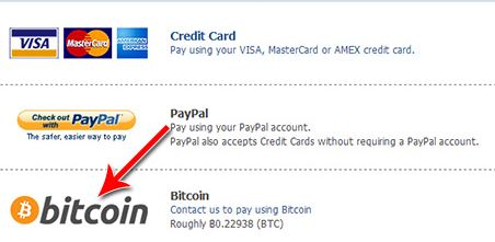 BITCOIN 3RD PARTY PAYMENT OPTION INTEGRATION