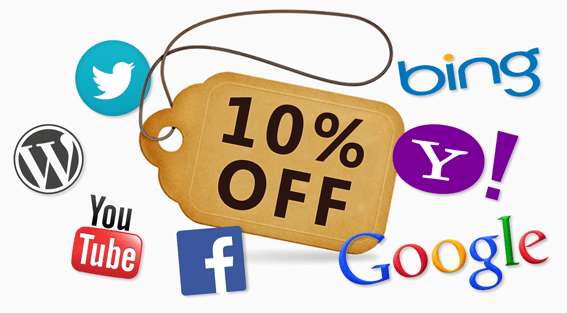 Social Share Discount Functionality