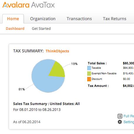 avatax-dashboard