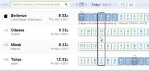eCommerce Bookings TimeZone Conversion Management