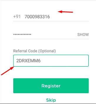 Advanced Referral Code