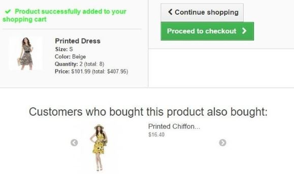Customers Who Purchased This Product Also Purchased That Product