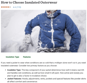 buying guide ecommerce rei