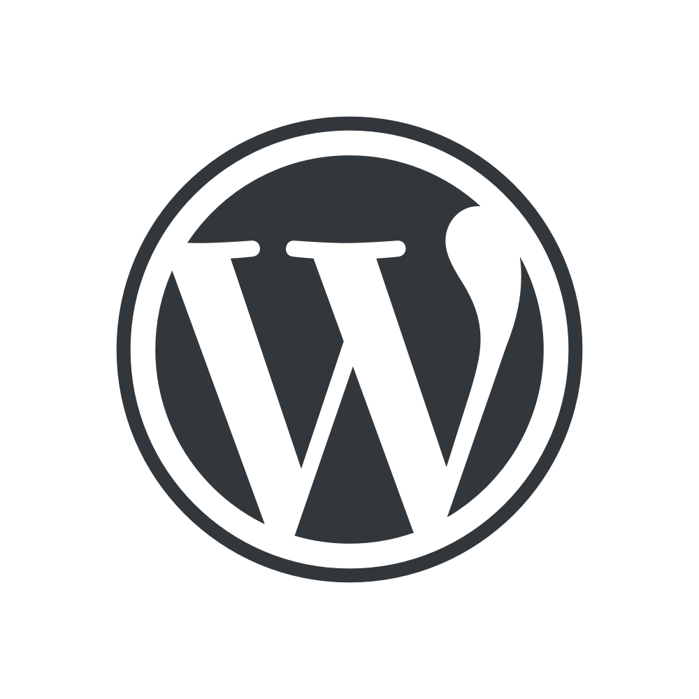 wordpress logo tranparent
