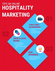 tips on online hospitality marketing