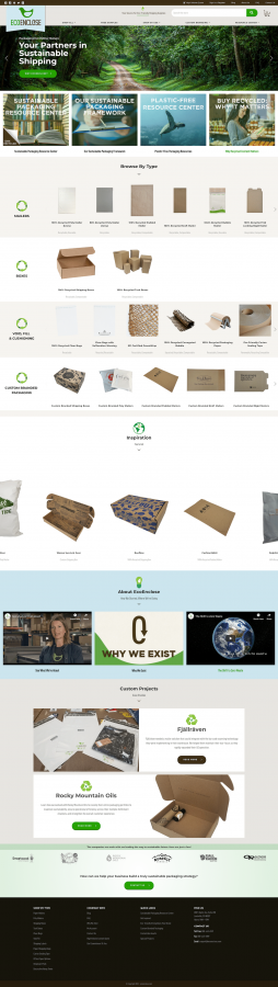 Compostable Biodegradable Sustainable Packaging EcoEnclose Earth-Friendly Shipping Solutions