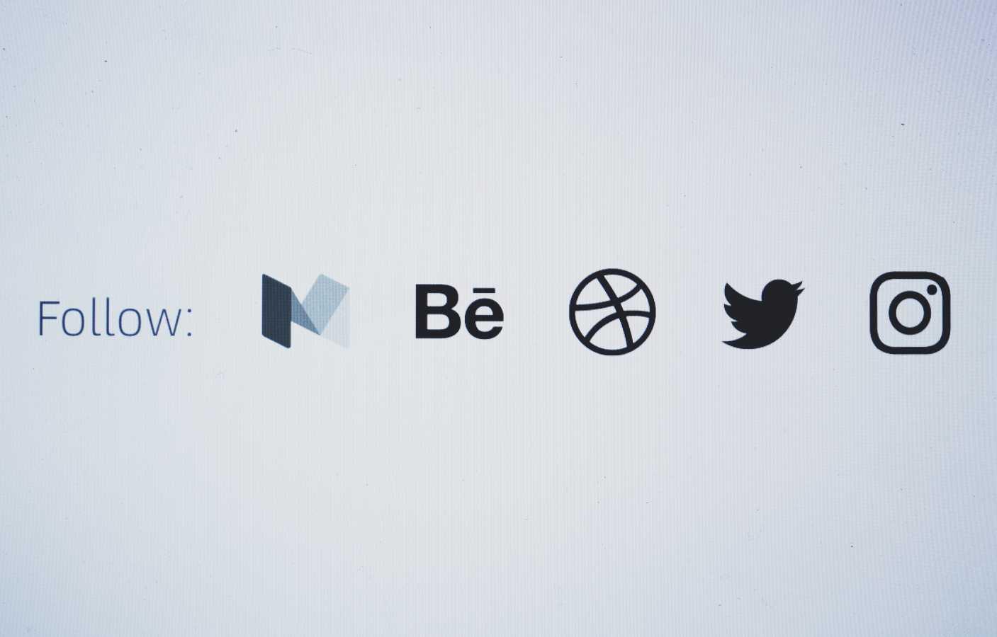 Web Design Has Little Room For Social Media