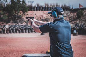 gun range action shot ppc for online gun shops