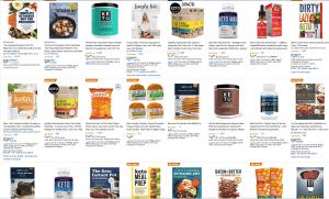 Amazon Keto Products