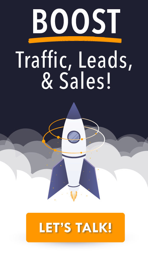 Boost your traffic, leads and sales