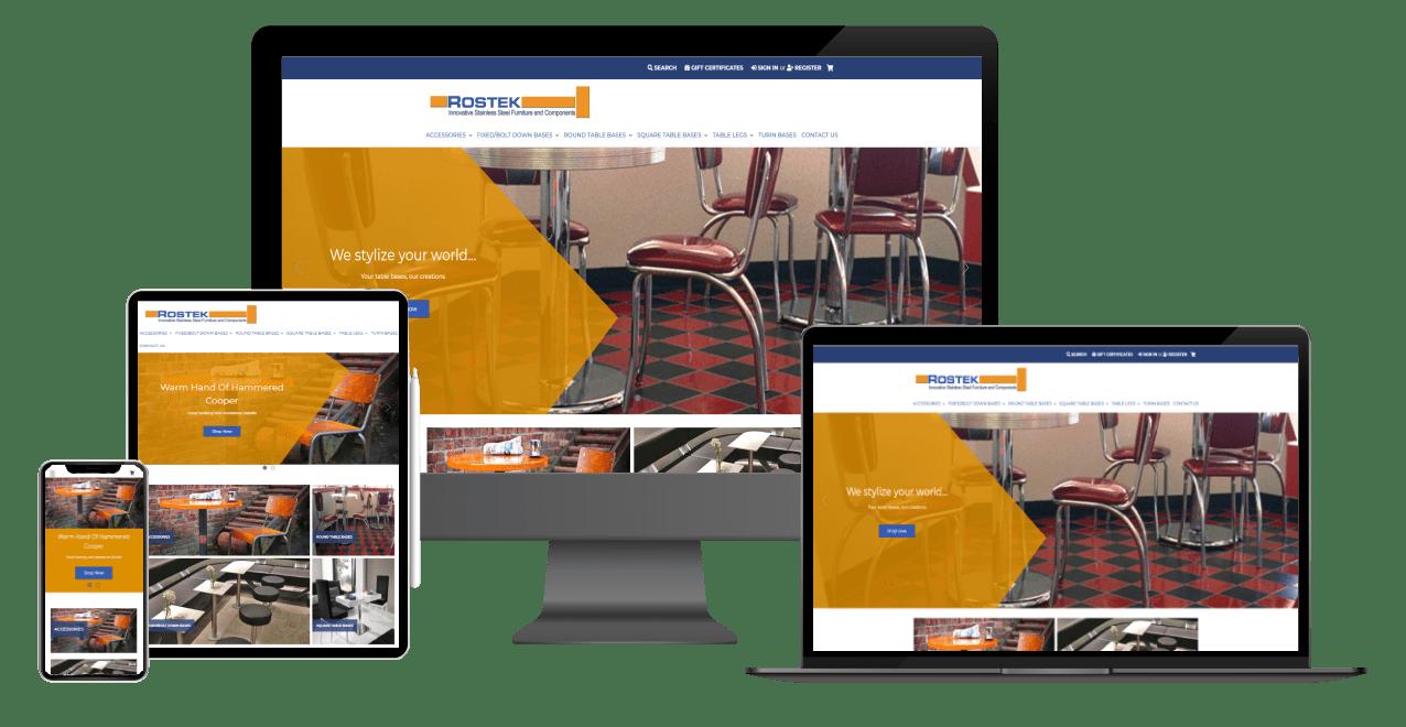 Rostek Website