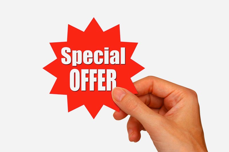 Purchase Order Special Offer