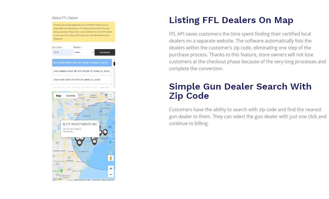 FFl API Gun Dealer